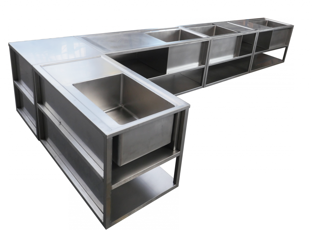 evier sur mesure tout inox dm industries. Black Bedroom Furniture Sets. Home Design Ideas