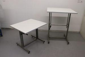 Conception et fabrication sur mesure de tables élévatrices pour la grande distribution - amélioration du poste de travail