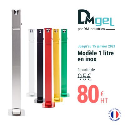 Offre spéciale, prix réduit, commandez vos distributeurs de gel hydraolcoolique Fabrication française
